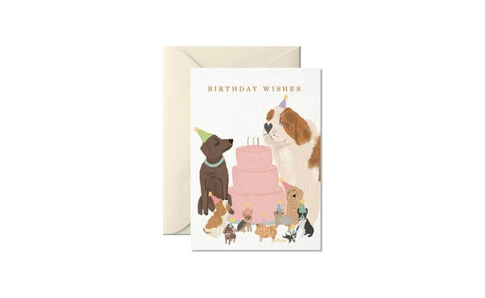 Klappkarte Birthday Wishes