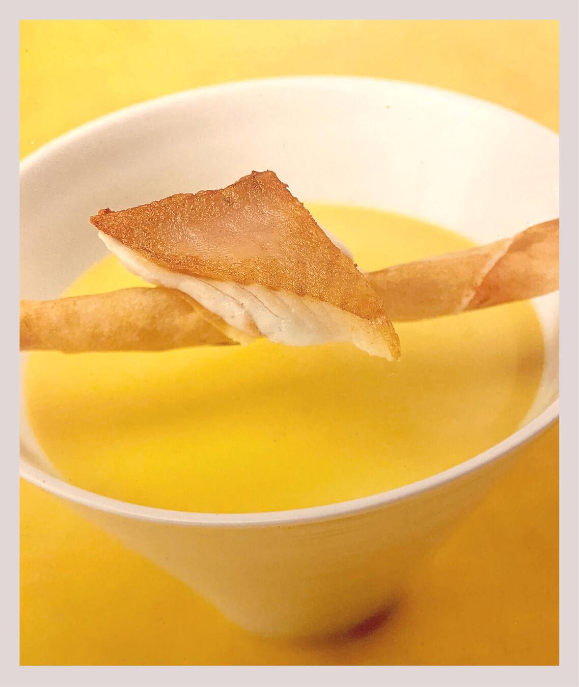 Gelbe-Paprika-Rahmsuppe