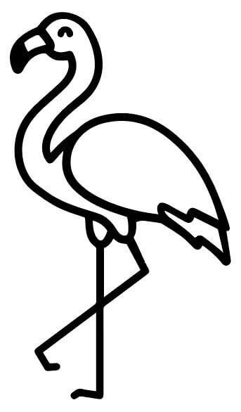 Flamingo_Kontur