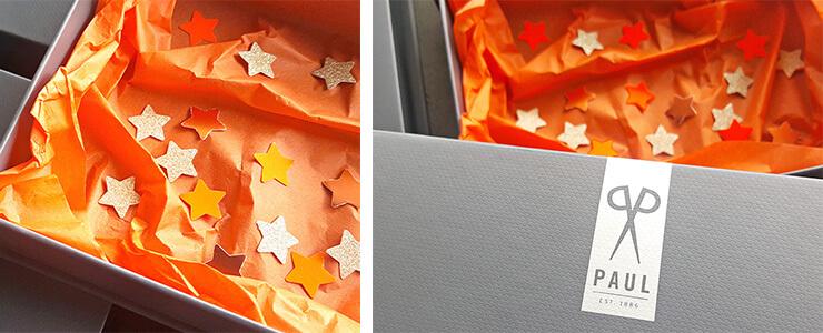Detailansichten unserer Geschenkboxen