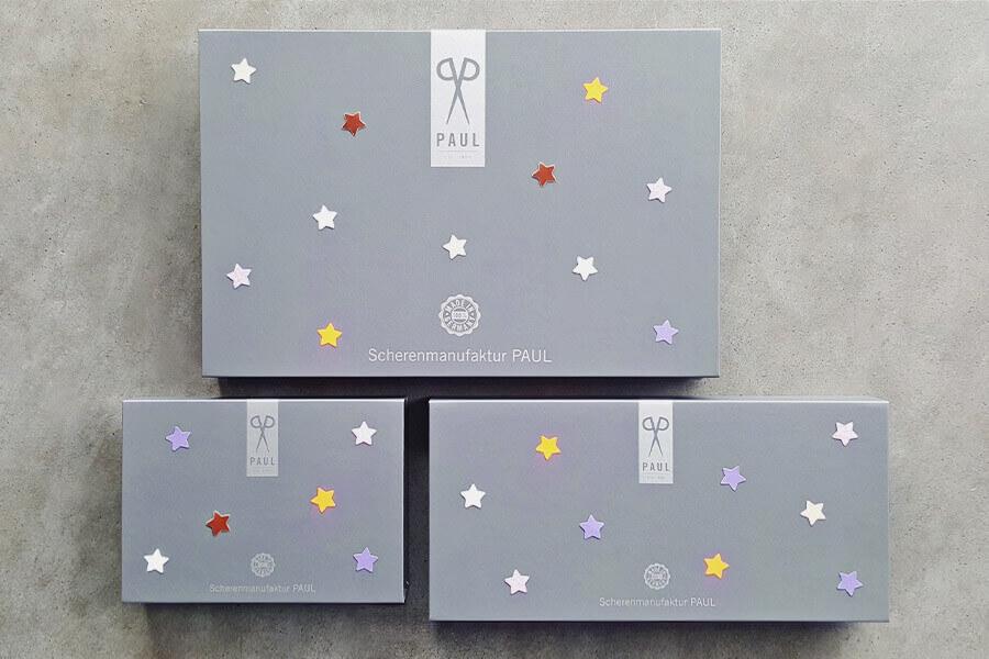 Premium Geschenkboxen in drei Größen