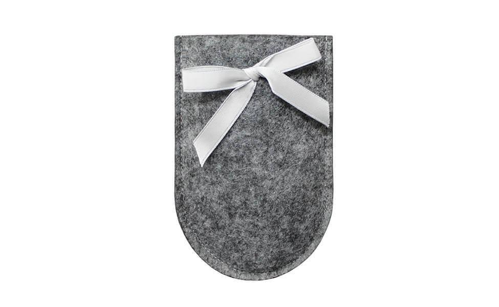 Filzetui für eine Blumenschere (Grau)